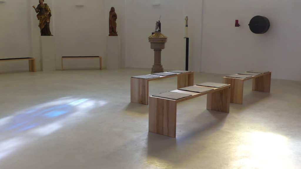 Sichtbetonboden in der Kirche von Ampflwang von Wohnbeton